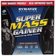 Dymatize Super Mass Gainer  Rich Chocolate - 12 lbs