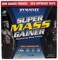 Dymatize Super Mass Gainer Rich Chocolate -- 12 lbs