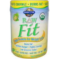 Garden of Life, RAW Organic Fit, High Protein for Weight Loss, 15.1 oz (427 g)