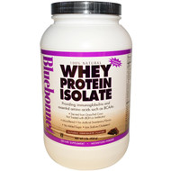 Bluebonnet Nutrition 100% Natural Whey Protein Isolate Natural Chocolate - 2 lbs