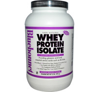 Bluebonnet Nutrition 100% Natural Whey Protein Isolate Natural Original - 2.2 lbs