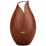 Now Foods, Solutions, Ultrasonic Faux Wood Grain Oil Diffuser, 1 Piece