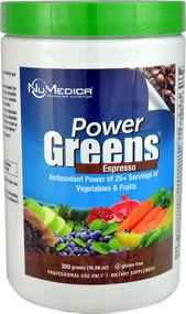 NuMedica Power Greens  Espresso - 10.58 oz