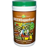 Amazing Grass, GreenSuperfood, Chocolate Drink Powder, 17 oz (480 g)