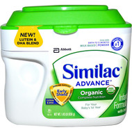 Similac, Organic Infant Formula with Iron, Powder, Birth to 12 Months, 1.45 lb (658 g)