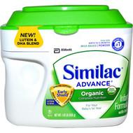 Similac, Organic Infant Formula with Iron, Powder, Birth to 12 Months, 1.45 lb (658 g)