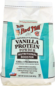 Bobs Red Mill Protein Powder Nutritional Booster  Vanilla - 32 oz