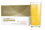 Ageless Foundation UltraMAX Gold Advanced Rejuvenation Formula Valencia Orange - 22 Packets