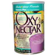Natures Plus, Oxy-Nectar, Ten Stage Antioxidant Beverage, Natural Mixed Berry Flavor, 1.3 lbs (594 g)