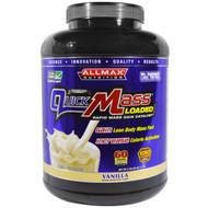 ALLMAX Nutrition, QuickMass, Weight Gainer, Rapid Mass Gain Catalyst, Vanilla, 6 lbs (2.72