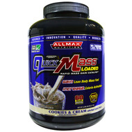 ALLMAX Nutrition, QuickMass, Weight Gainer, Rapid Mass Gain Catalyst, Cookies & Cream, 6 lbs (2.72