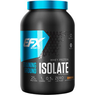 EFX Sports, Training Ground, Whey Protein Isolate, Chocolate, 38.4  oz (1089 g)