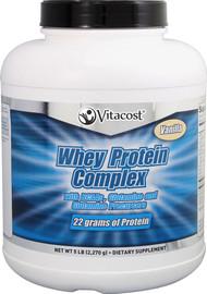 Vitacost Whey Protein Complex Powder Vanilla - 5 lbs