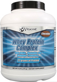 Vitacost Whey Protein Complex Powder Chocolate - 5 lbs