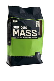 Optimum Nutrition Serious Mass Chocolate -- 12 lbs