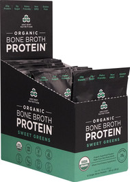 Ancient Nutrition Organic Bone Broth Protein Sweet Greens - 12 Packets