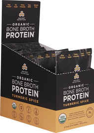 Ancient Nutrition Organic Bone Broth Protein Turmeric Spice - 12 Packets