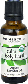 Dr. Mercola Organic Essential Oil Tulsi Holy Basil - 1 fl oz