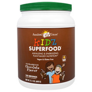 Amazing Grass, Kidz Superfood, Outrageous Chocolate Flavor, 21.1 oz (600 g)