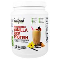 Sunfood, Raw Organic Vanilla Rice Protein, 2.5 lb (1.13