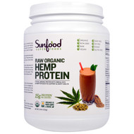Sunfood, Raw Organic, Hemp Protein Powder, 2.5 lb (1.13