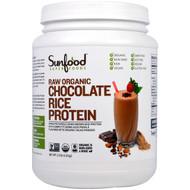 Sunfood, Raw Organic Chocolate Rice Protein, 2.5 lb (1.13