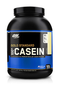 Optimum Nutrition, Gold Standard Natural 100% Casein,  French Vanilla - 4 lbs