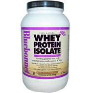 Bluebonnet Nutrition, Whey Protein Isolate, Natural French Vanilla Flavor, Powder, 2 lbs (924 g)