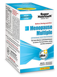 Super Nutrition Menopause Multiple Iron Free - 60 Packets