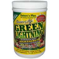 Natures Plus, Source of Life, Green Lightning, High Energy Whole Food Concentrate, 0.5 lb. (230 g)