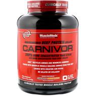 MuscleMeds, Carnivor, Bioengineered Beef Protein Isolate, Chocolate Peanut Butter, 4.4 lbs (2,016 g)
