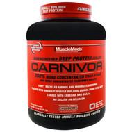 MuscleMeds, Carnivor, Bioengineered Beef Protein Isolate, Chocolate, 4.5 lbs (2,038.4 g)