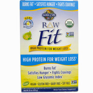 Garden of Life, RAW Fit, High Protein for Weight Loss, Vanilla, 10 Single Serving Packets, 1.5 oz (42 g) Each