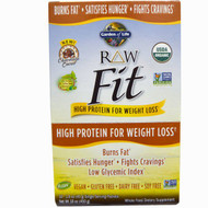 Garden of Life, RAW Fit, High Protein for Weight Loss, Chocolate Cacao, 10 Single Serving Packets - 1.6 oz (45 g) Each