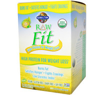 Garden of Life, RAW Fit, High Protein for Weight Loss, 10 Packets, 1.6 oz (45 g) Each