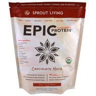 Sprout Living, Organic Epic Protein, Chocolate Maca, 1 kg (1,000 g)