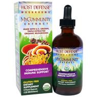 Fungi Perfecti Host Defense Mushrooms MyCommunity Extract -- 4 fl oz