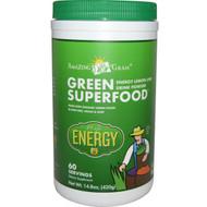 Amazing Grass Green SuperFood Drink Powder Lemon Lime -- 60 Servings