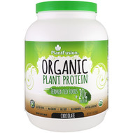 PlantFusion, Organic Plant Protein, Chocolate, 2 lb (908 g)