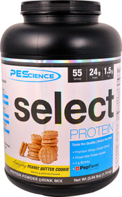 PEScience Select Protein Peanut Butter Cookie -- 55 Servings