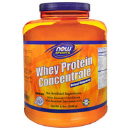 Now Foods, Sports, Whey Protein Concentrate, Unflavored, 5 lbs (2268 g)