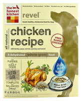 The Honest Kitchen Revel Dehydrated Dog Food for Puppies & Adult Dogs Chicken - 10 lbs