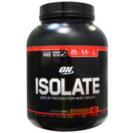 Optimum Nutrition Isolate 100% Whey Protein Isolate Chocolate Shake -- 3 lbs