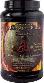 Warrior Force Warrior Food The Ultimate Protein Supplement Vanilla -- 1000 g