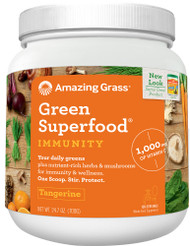 Amazing Grass Green SuperFood Immunity Defense Tangerine - 24.7 oz