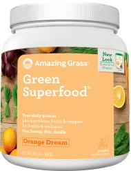 Amazing Grass Green SuperFood Drink Powder Orange Dreamsicle - 28 oz