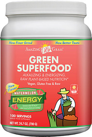 Amazing Grass, Green Superfood, Energy, Watermelon, 24.7 oz (700 g)