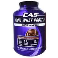 EAS, 100% Whey Protein, Chocolate, 5 lbs (2.27 kg) Powder