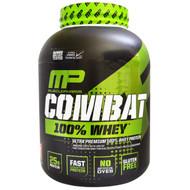 MusclePharm, 100% Combat Whey Protein, Strawberry, 80 oz (2269 g)