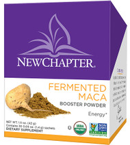 New Chapter Fermented Organic Maca Booster Powder - 30 Packets